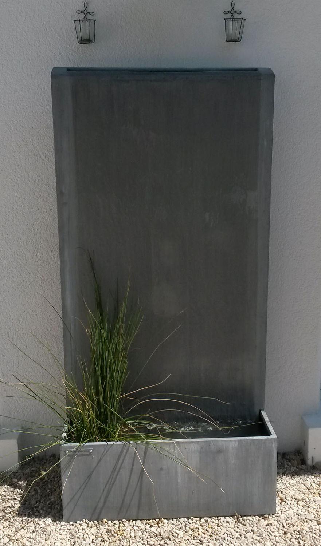 Garden fountain / zinc - ,,by Olivier Joannin - Tonton Zingueur