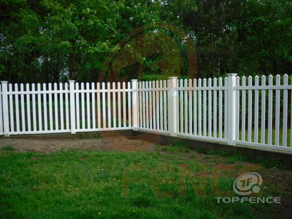 ... Garden Fence / With Bars / PVC TRADITIONAL SIMPLE Top Fence ...