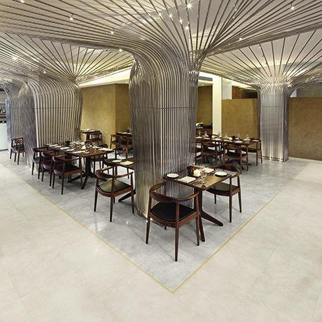 Vinyl Flooring Tertiary Tile High Gloss Bevel Line Pu