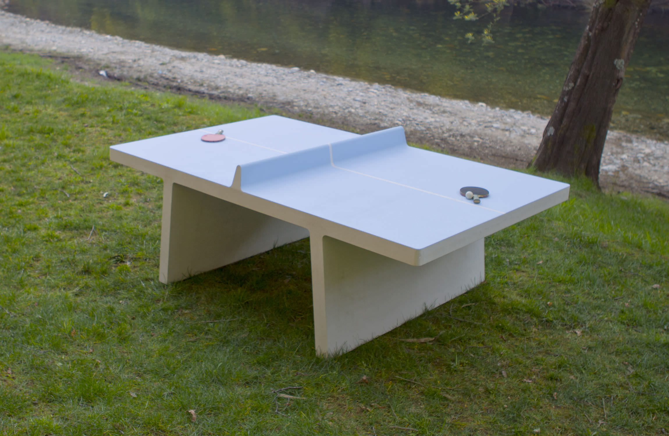 playground ping pong table - amoplay : ping-pong table by pedrita