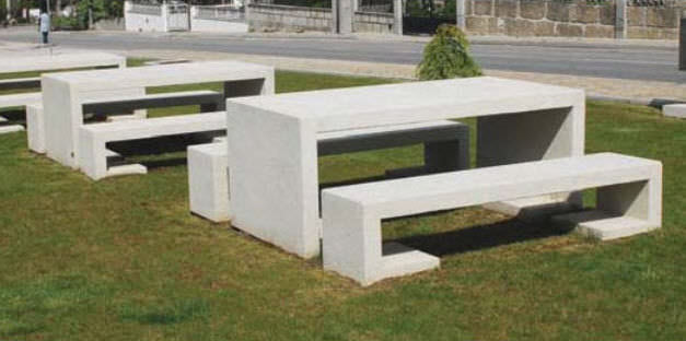 Awesome ... Contemporary Picnic Table / Concrete / Rectangular / For Public Spaces  MATEUS Amop Synergies