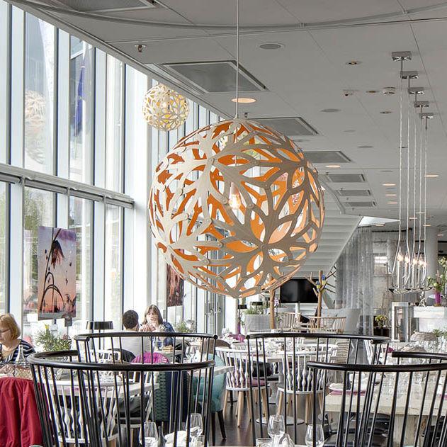 Pendant Lamp / Original Design / Bamboo / Wooden   FLORAL
