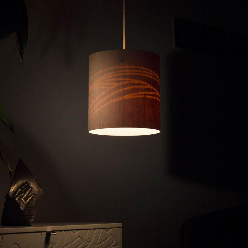 Pendant Lamp / Contemporary / Bamboo / Nylon   DUNES
