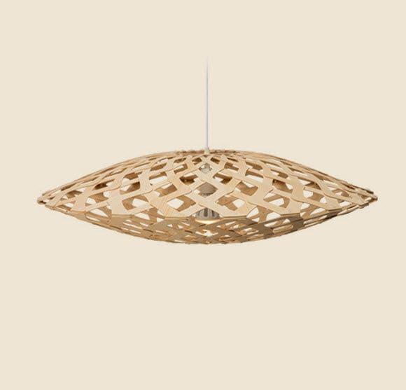 Pendant Lamp / Contemporary / Bamboo / Incandescent FLAX David Trubridge  Design ...