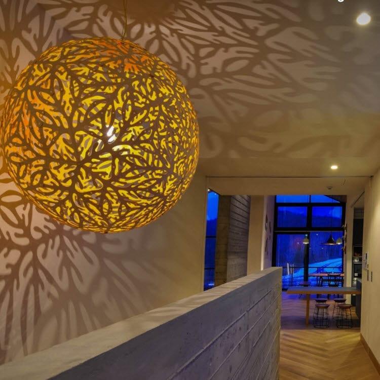 ... Pendant Lamp / Contemporary / Bamboo / Incandescent ...