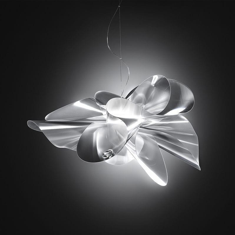 pendant lamp original design lentiflex led toile by adriano rachele - Suspension Design Led