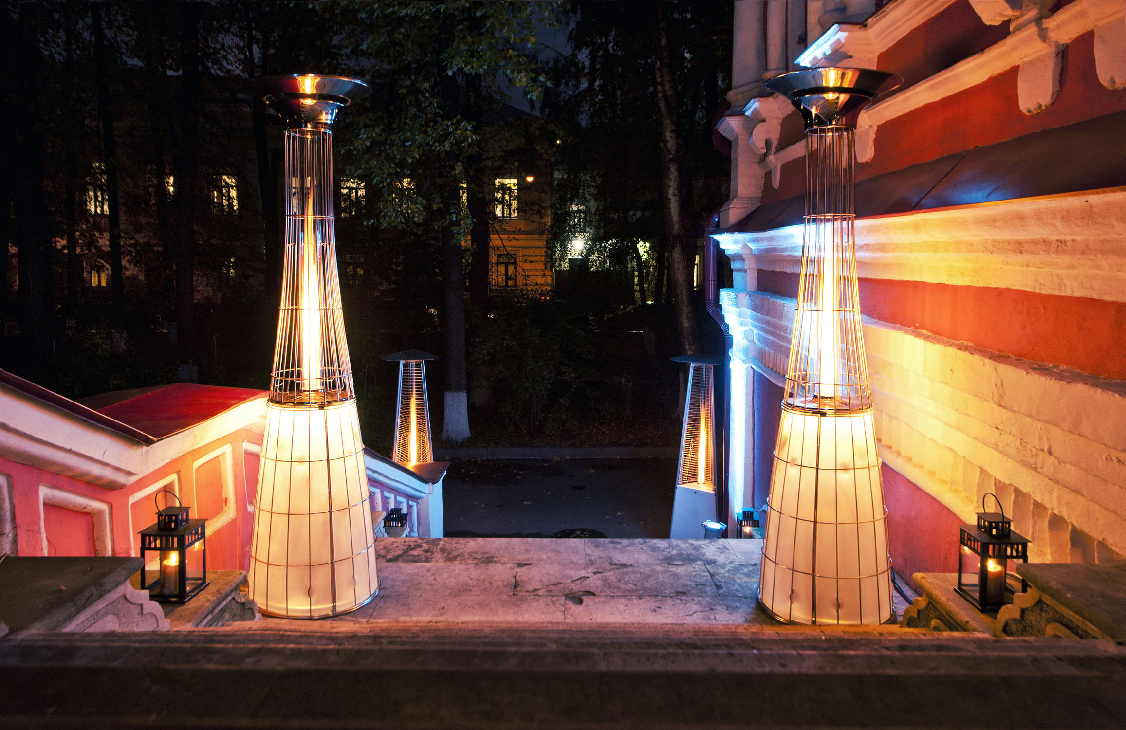 Floor standing infrared patio heater gas DOLCEVITA ITALKERO