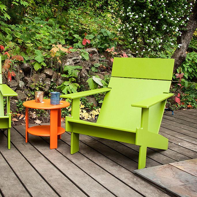 Contemporary Armchair / Polyethylene / 100% Recyclable / Garden    LOLLYGAGGER