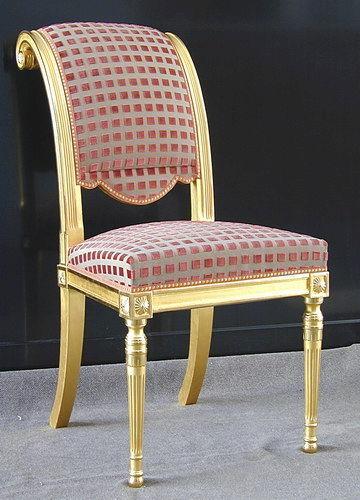 Style Directoire directoire style chair / upholstered / wooden - bellanger - balcaen