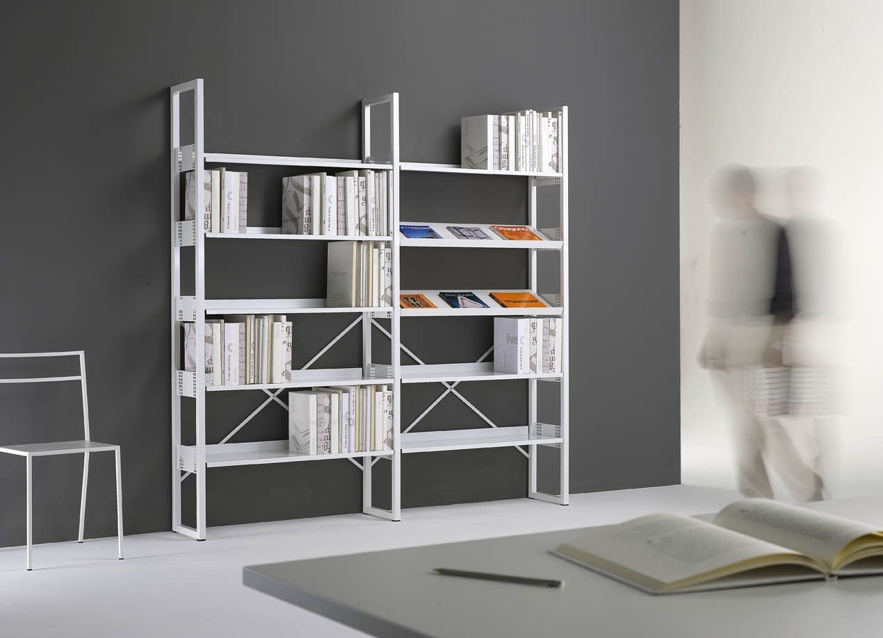 Contemporary Shelf / Metal / For Offices   QUADROTTO QS