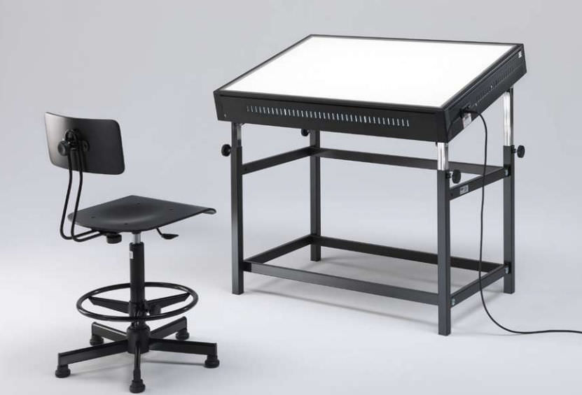 Contemporary Drafting Table / Metal / Rectangular / Commercial GRAPHOLUX  Emme Italia ...