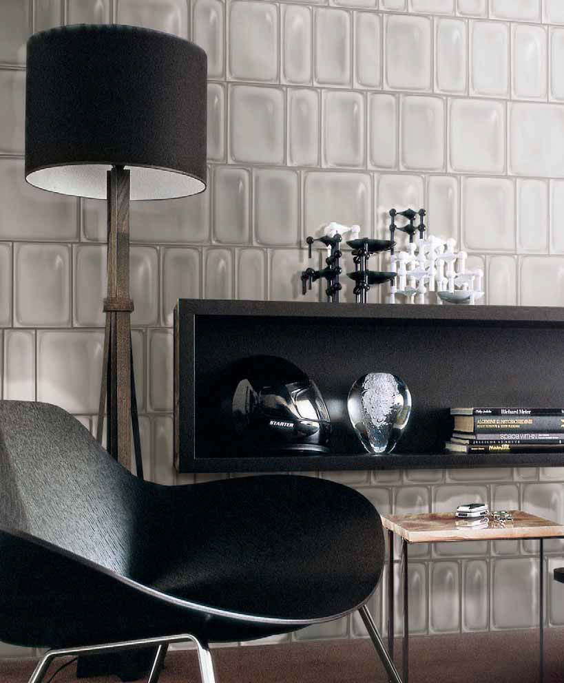Indoor tile / wall / ceramic / textured - REPTILE - CROCODILE