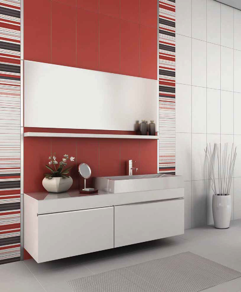 Indoor tile bathroom wall ceramic SOLARIS Kale
