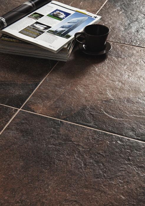 Indoor Tile Floor Porcelain Stoneware Polished Rock