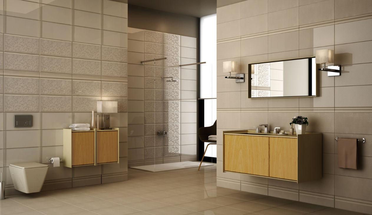 Bathroom tile / floor / ceramic / 3D - BRIDAL COLLECTION- PEARL - Kale