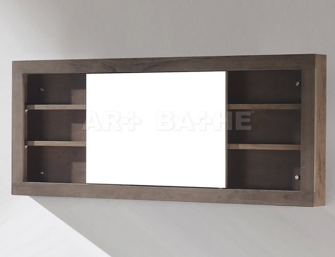 Mirrored Bathroom Wall Cabinet Mc68 Sa Ch Artbathe