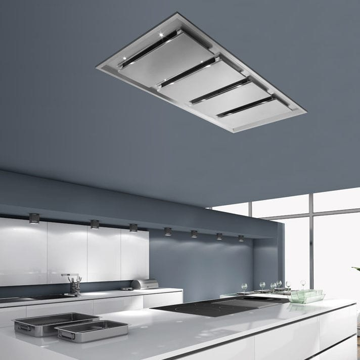 Gentil Ceiling Mounted Range Hood / Low Noise / Commercial   INART 4M