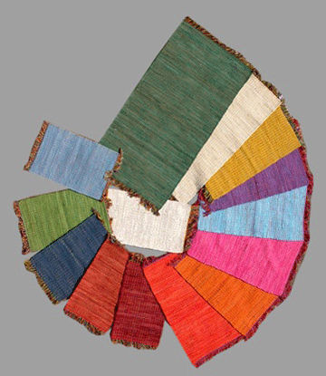Indian Rag Rugs Handloomed Area Rug Dhurrie Carpet Runner Sari