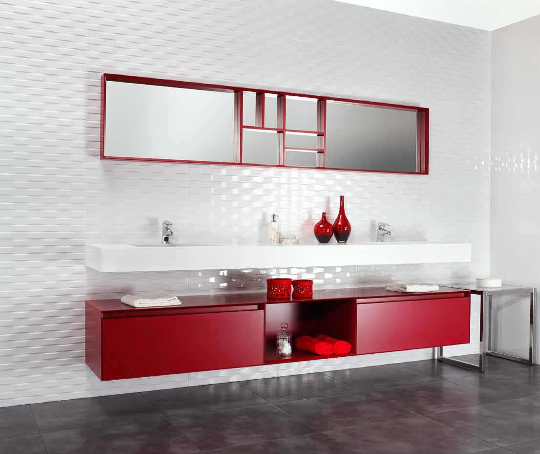 Indoor tile / bathroom / wall / ceramic - ORDESA - Argenta cerámica