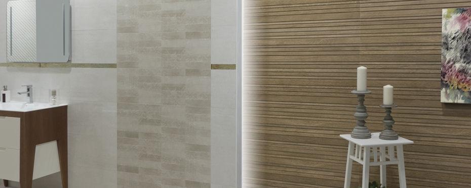 Indoor Tile Wall Ceramic 30x90 Cm Woodlife R90 Azteca