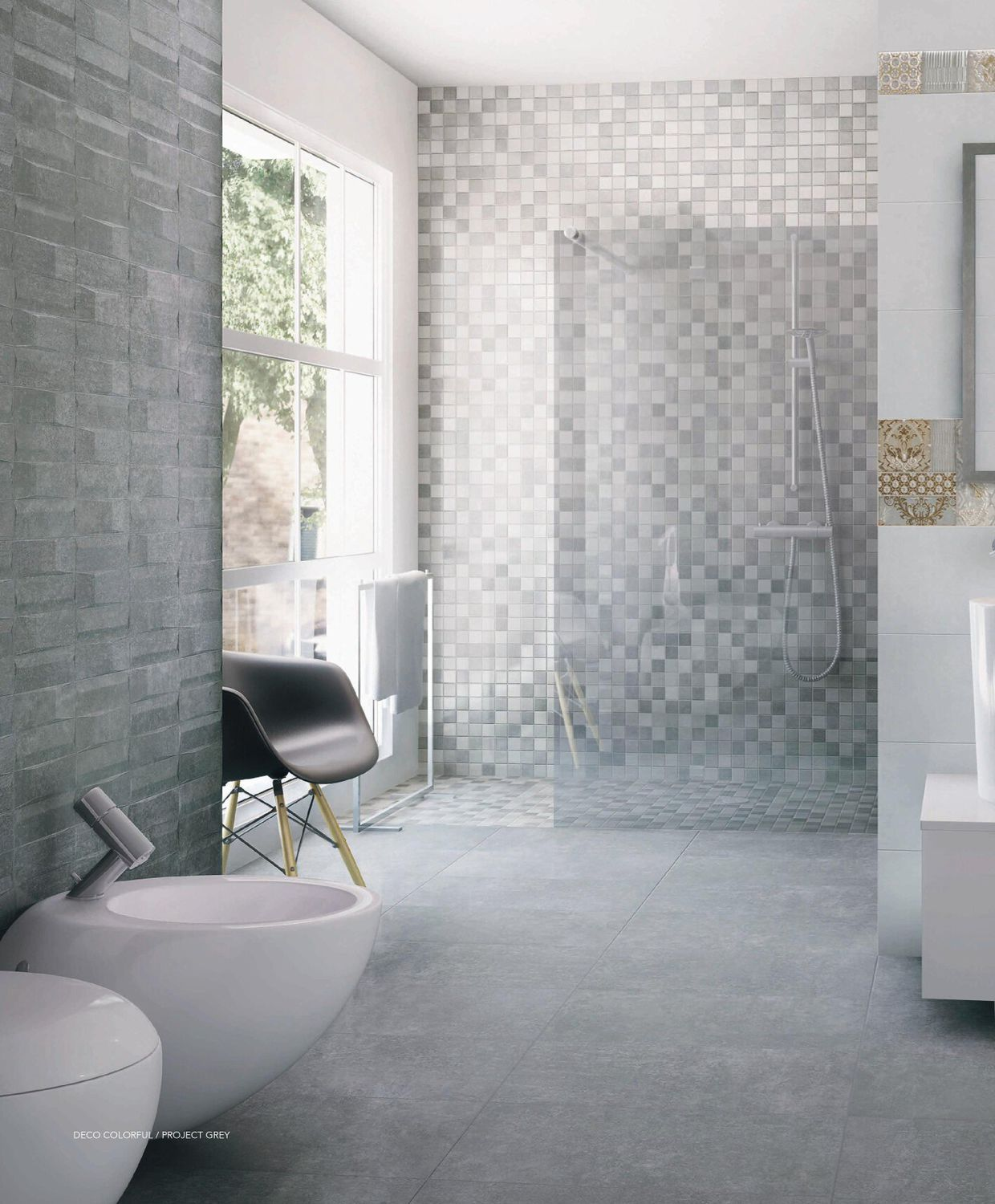 Bathroom tile / kitchen / floor / ceramic - PROJECT - Ceracasa Ceramica