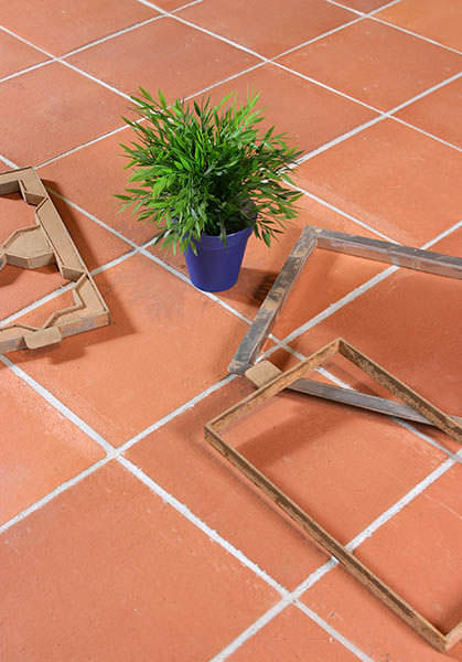 Indoor tile / outdoor / floor / terracotta - MANUAL - Ceramica Elias