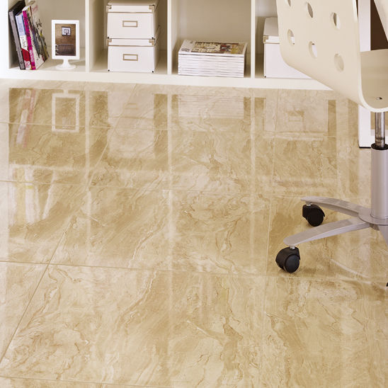 Living room tile / floor / ceramic / patterned - GIZA - Ceramica Gomez
