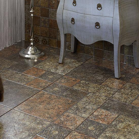 Living Room Tile Floor Ceramic Textured