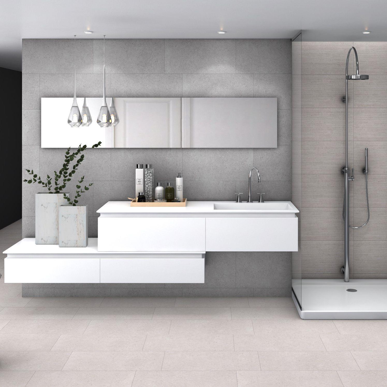 Bathroom tile / wall / porcelain stoneware / plain - SANDSTONE - Codicer