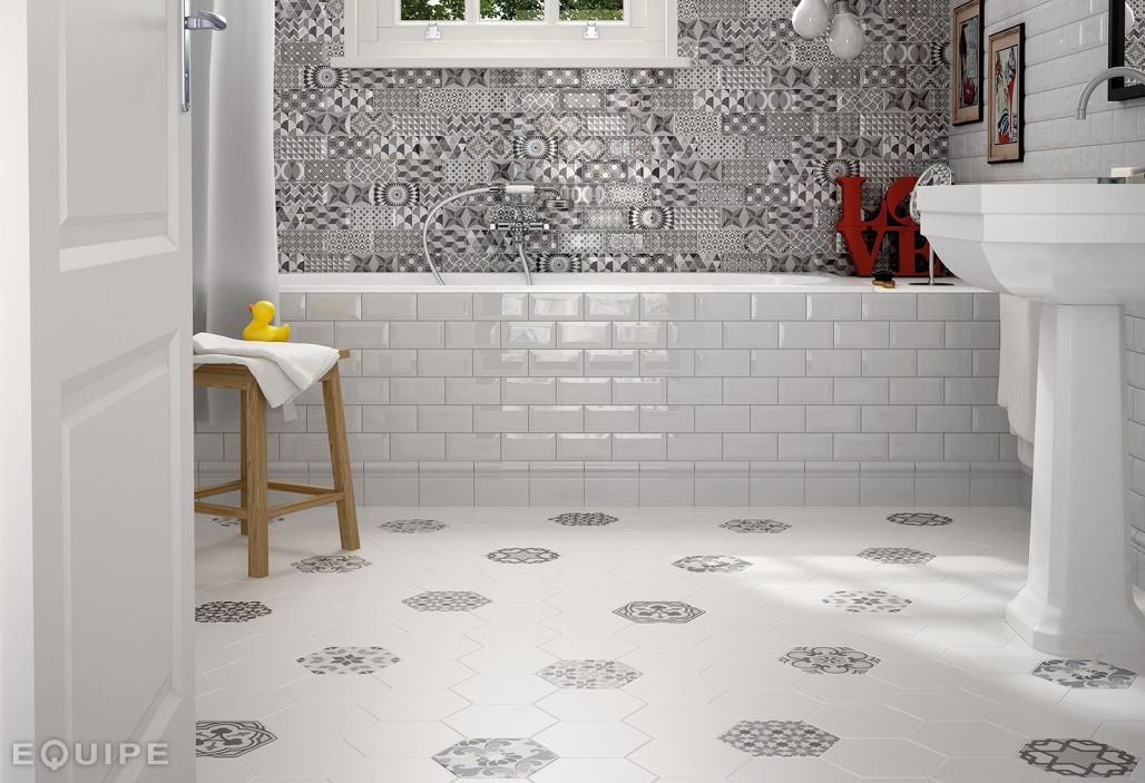 Indoor Tile Bathroom Floor Ceramic Metro