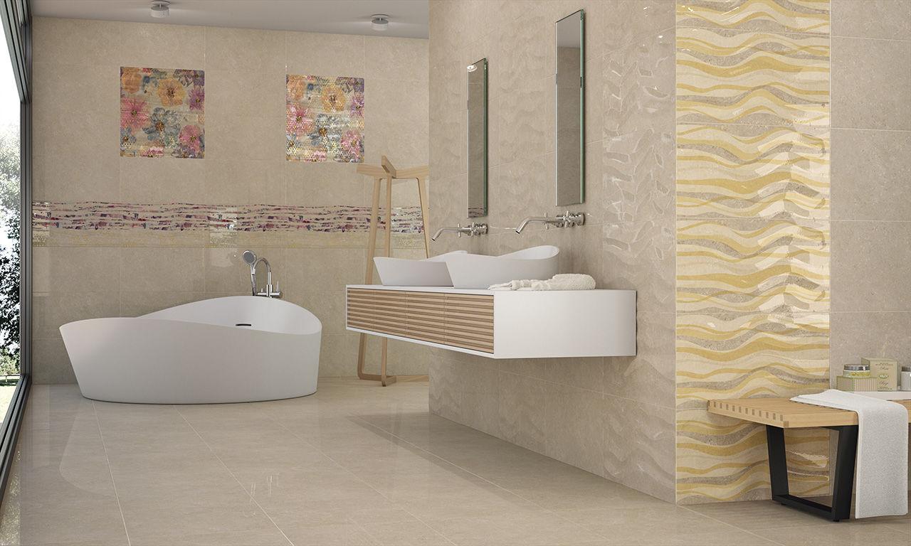 Bathroom Tile Floor Bathroom Tile Floor Porcelain Stoneware High Gloss Royale