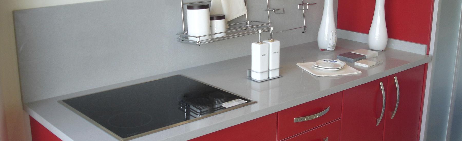 Quartz composite countertop / kitchen - CENIZA - COMPAC The ...