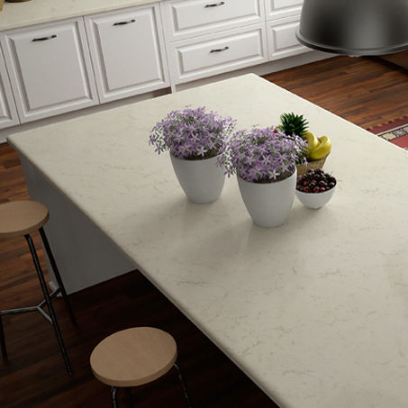 Quartz Composite Countertop / Kitchen   PERLINO
