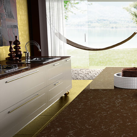 Quartz Composite Countertop / Kitchen   IMPERIAL