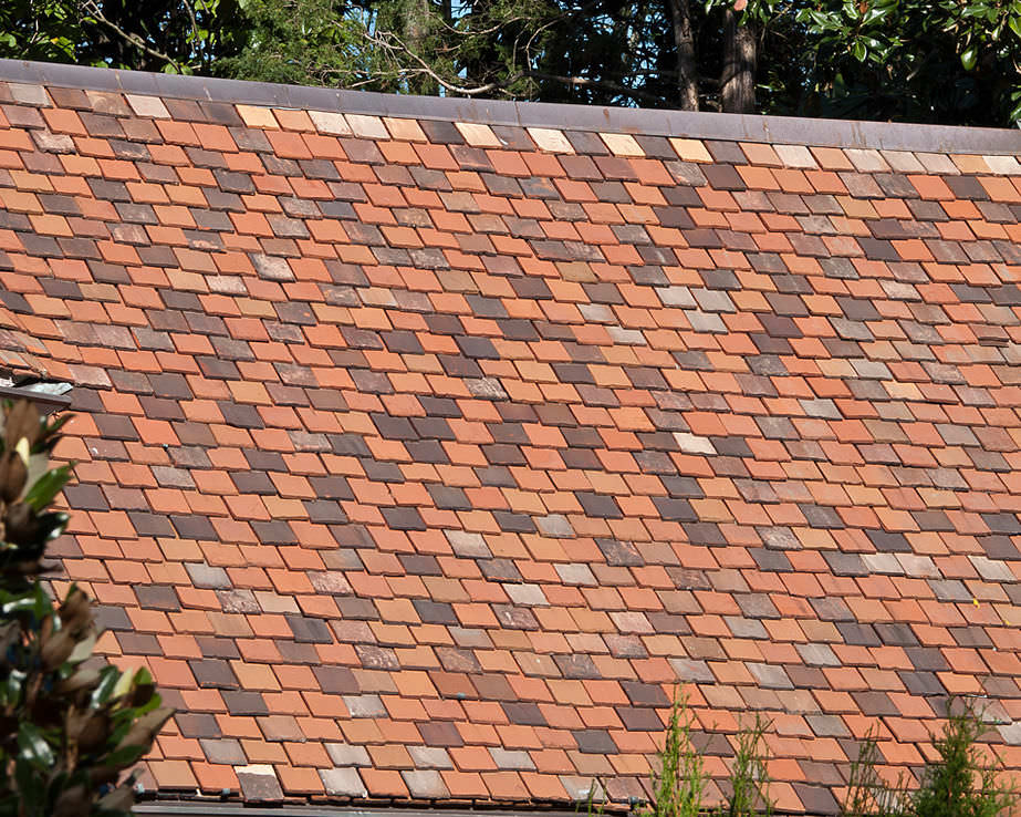 Flat Roof Tile Clay Slab Ludowici