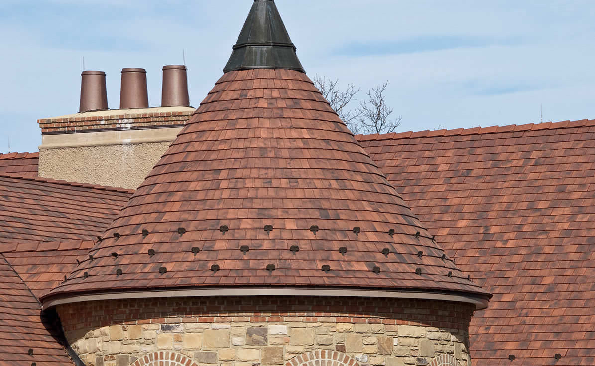 Flat Roof Tile / Clay NORMAN™ LUDOWICI ...