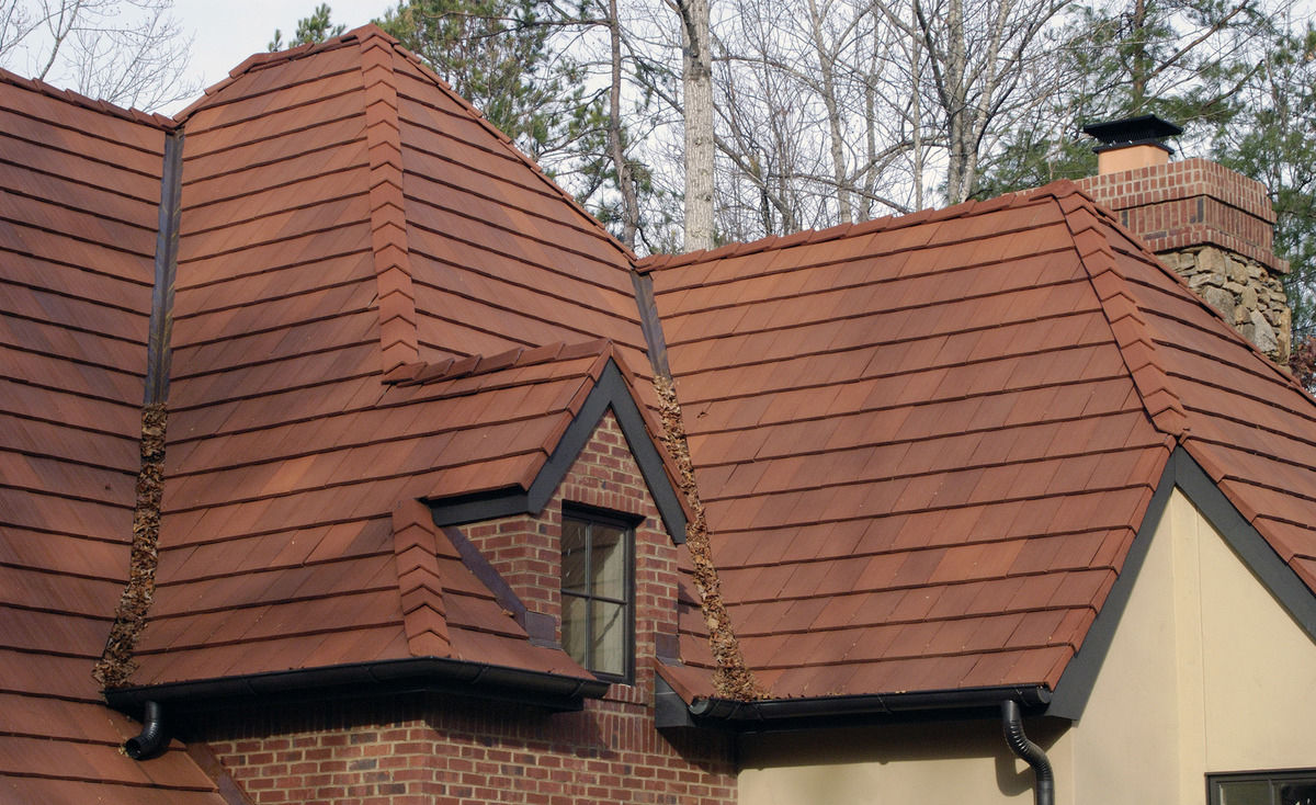 French Roof Tile Clay