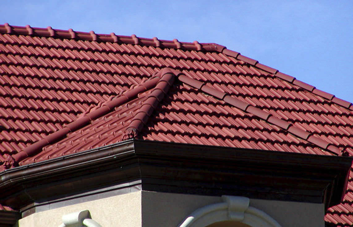 Interlocking Roof Tile / Clay   FRENCH