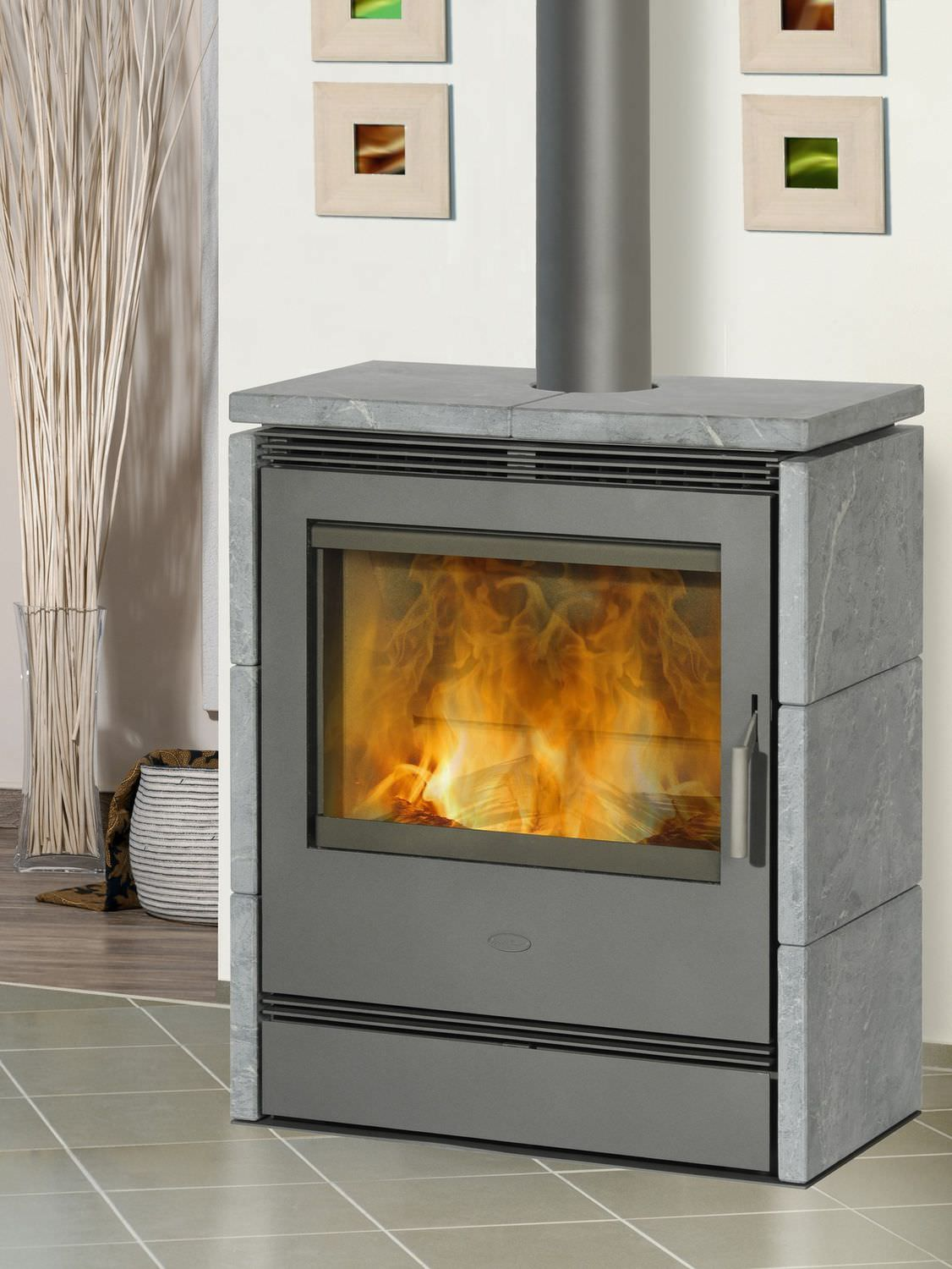 wood heating stove soapstone rnky fireplace