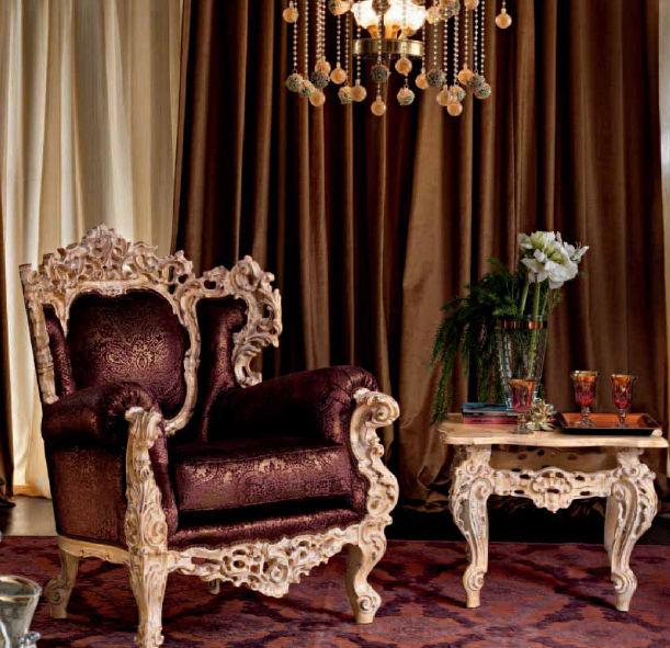 Classic Armchair / Velvet   VILLA VENEZIA: 11419