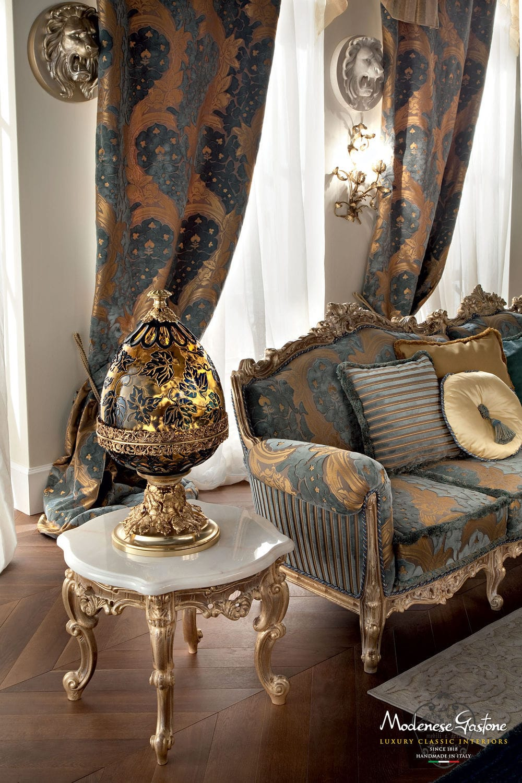 ... Classic Side Table / Wooden / Metal / Marble CASANOVA Modenese Gastone  Luxury Classic Furniture ...