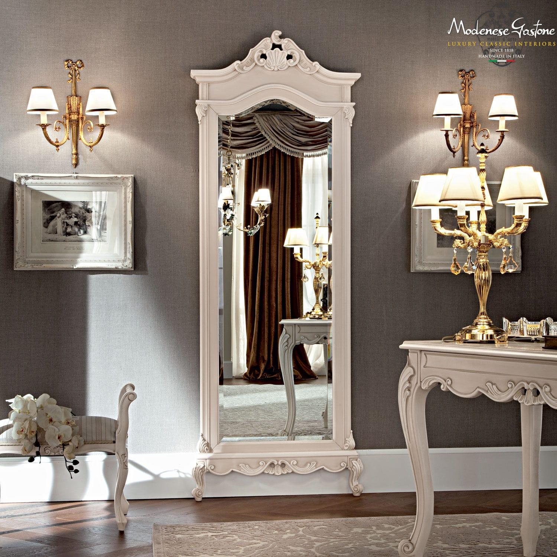 Free Standing Mirror Classic Wooden Casanova