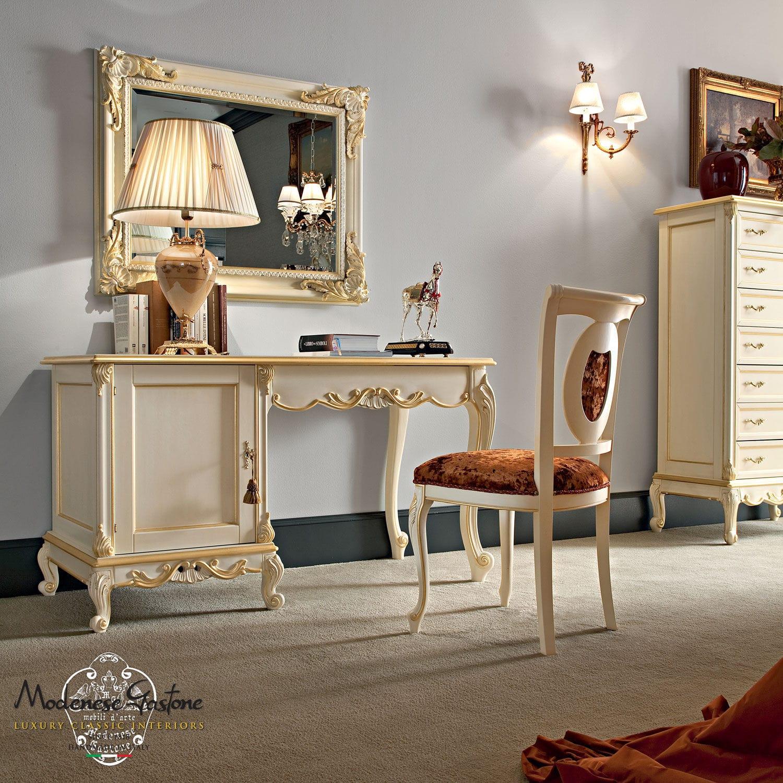 solid wood desk classic casanova