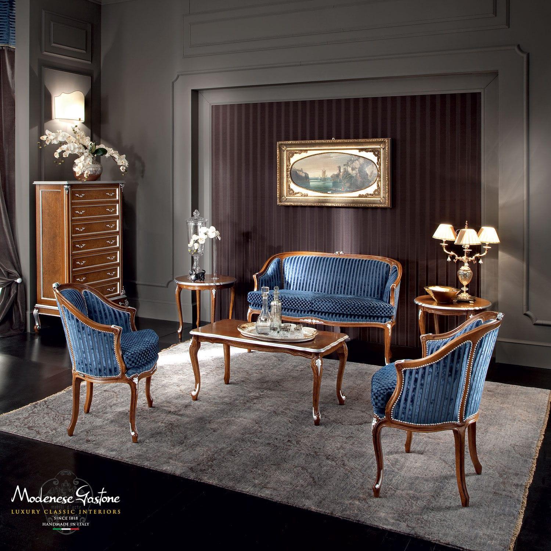 Classic Sofa / Fabric / 2 Person / Blue   CASANOVA 12429