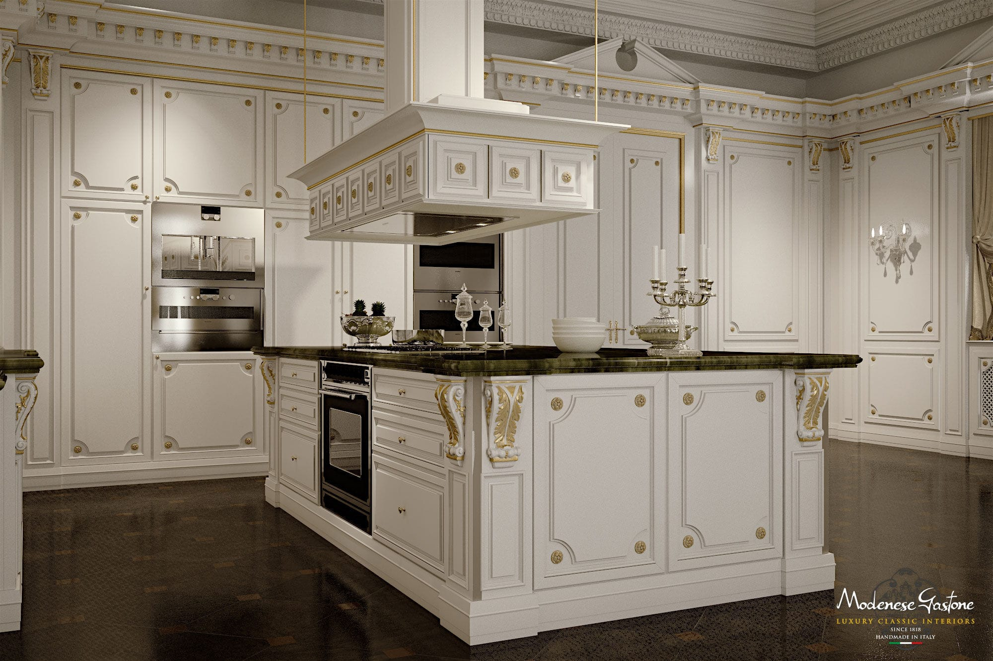 classic kitchen wooden island lacquered romantica ivory rh archiexpo com classic concepts argus kitchen island with zinc top classic wood kitchen island