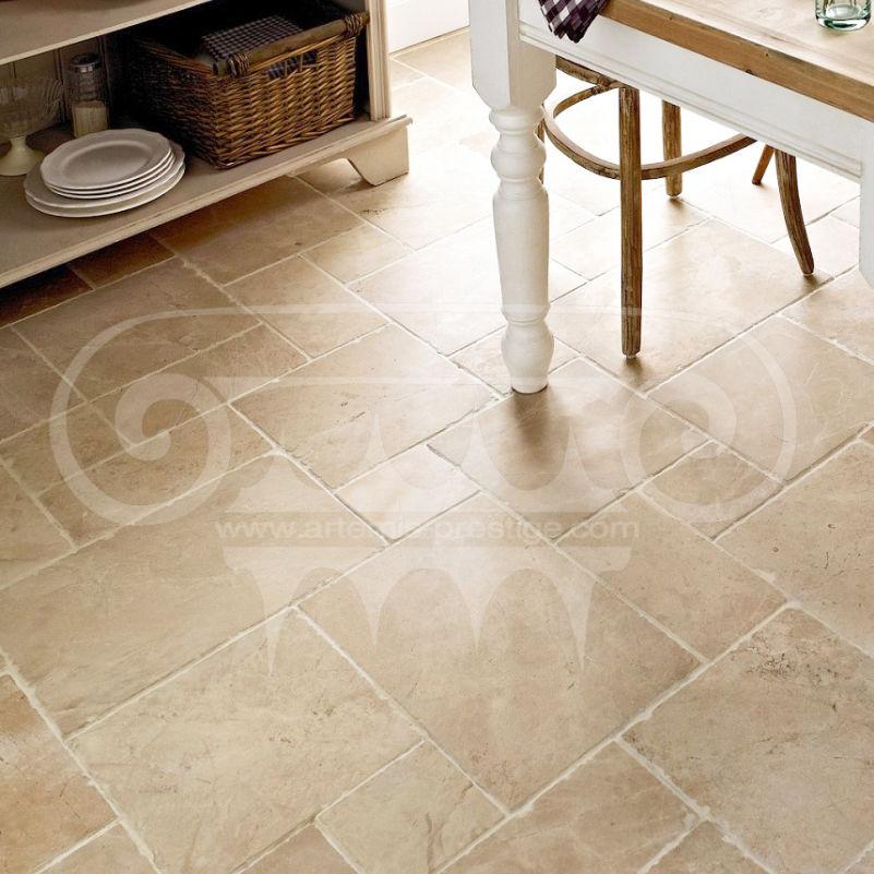 Indoor Tile Floor Marble Rectangular Antico Artemis