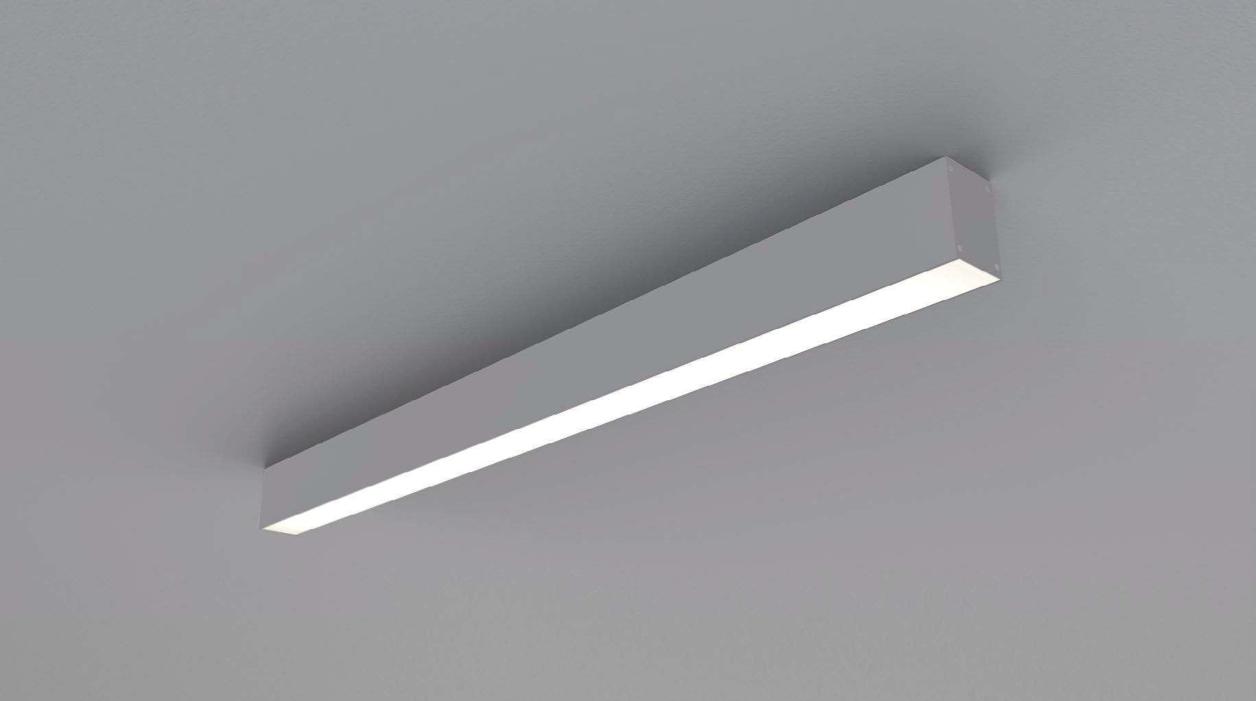Contemporary Ceiling Light Linear Plastic Led Z 3000k