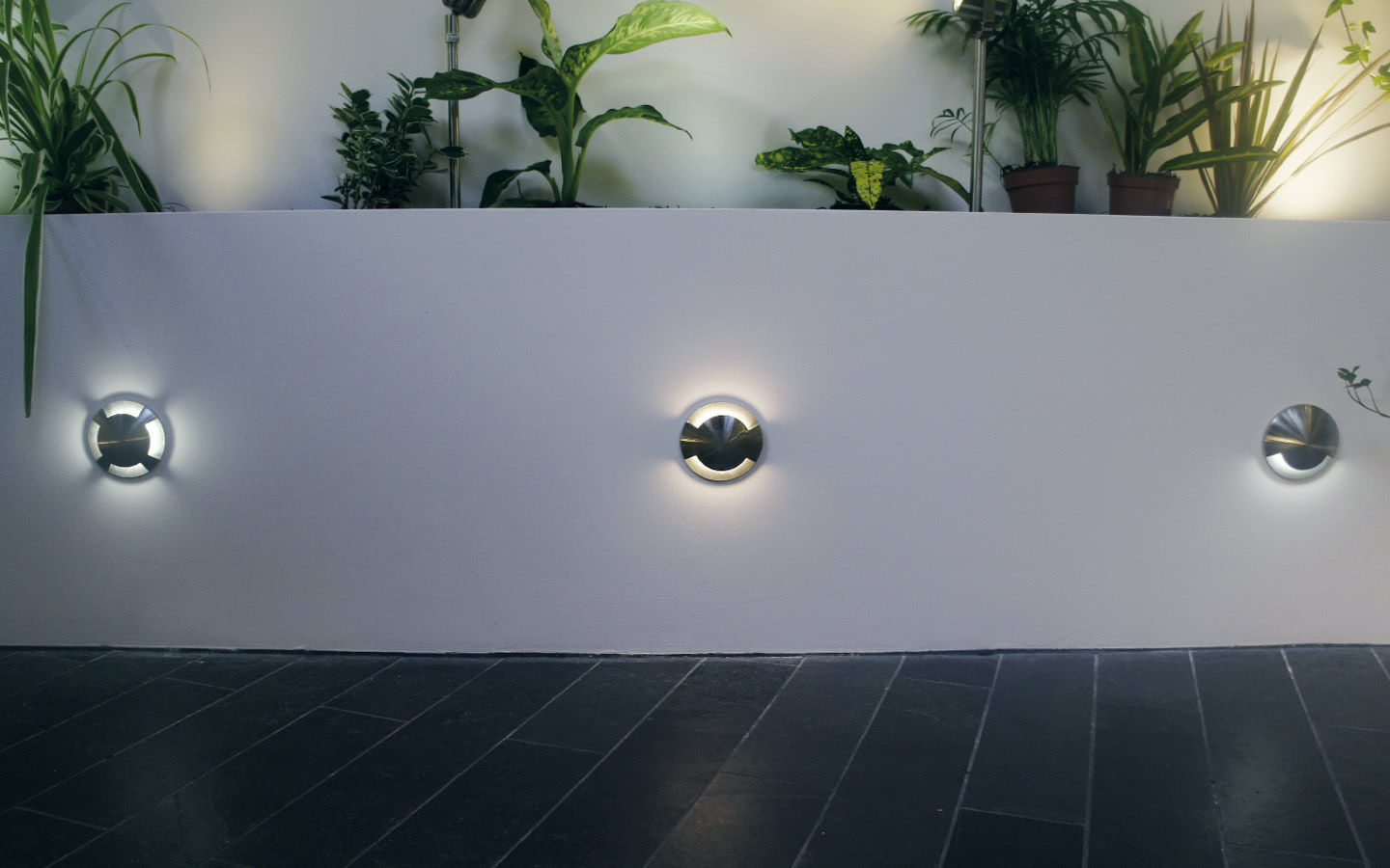 Recessed Wall Light Fixture Led Round Outdoor