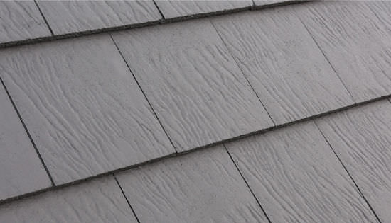 French Roof Tile Concrete Slate Look Large Riven Edgemere