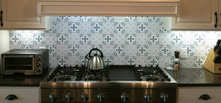 Indoor Tile Kitchen Wall Terracotta